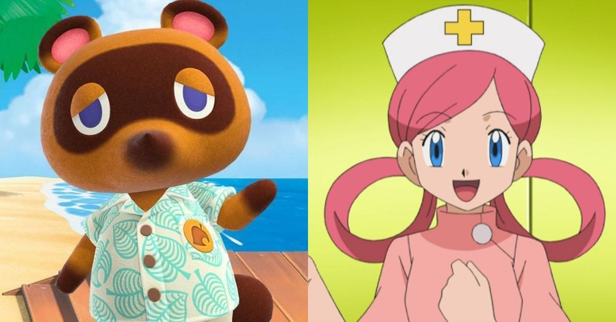 Animal Crossing Nurse Joy