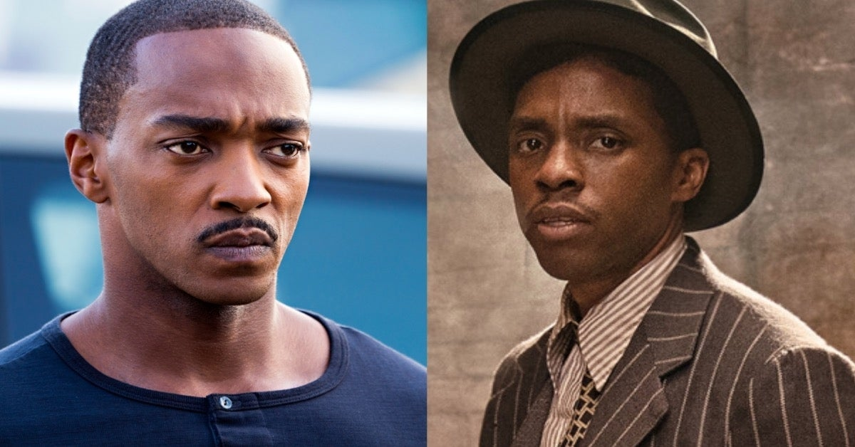 Anthony Mackie Outside the Wire Chadwick Boseman Ma Rainey's Black Bottom