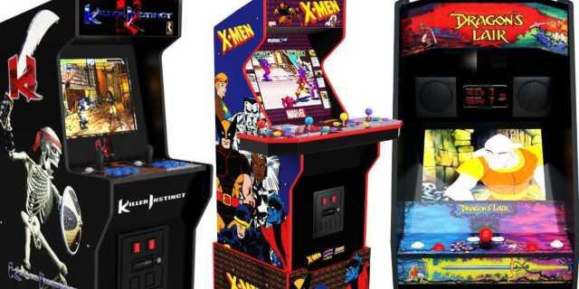 arcade1up x-men arcade dragons lair killer instinct