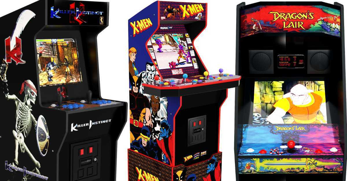 arcade1up x-men arcade dragons lair killer instinct