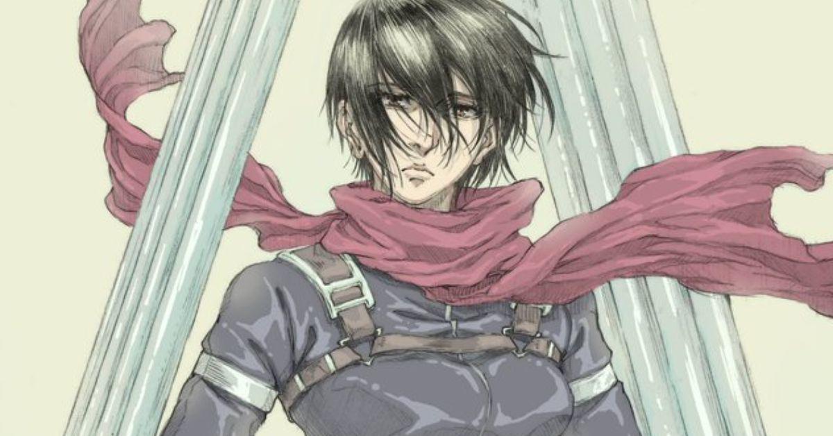 Attack on Titan Episode 66 Mikasa Anime Art