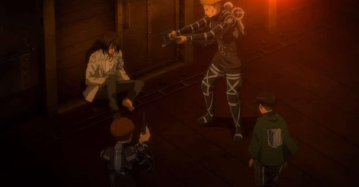 Attack On Titan Eren Arrest