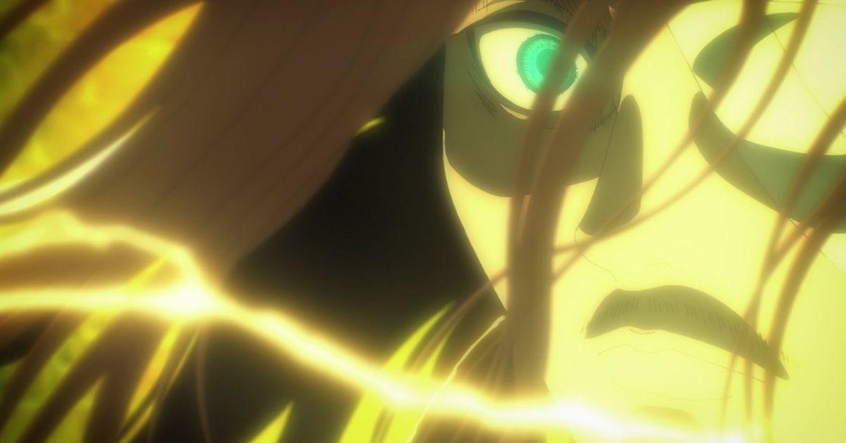 Attack on Titan Eren Titan Transformation Cliffhanger