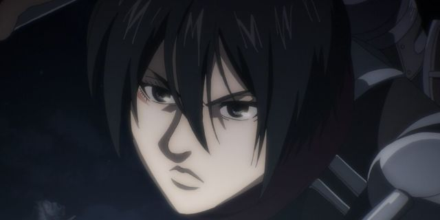 Attack on Titan Final Season Mikasa
