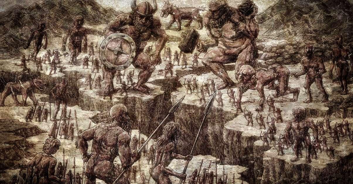 Attack On Titan Past Titans