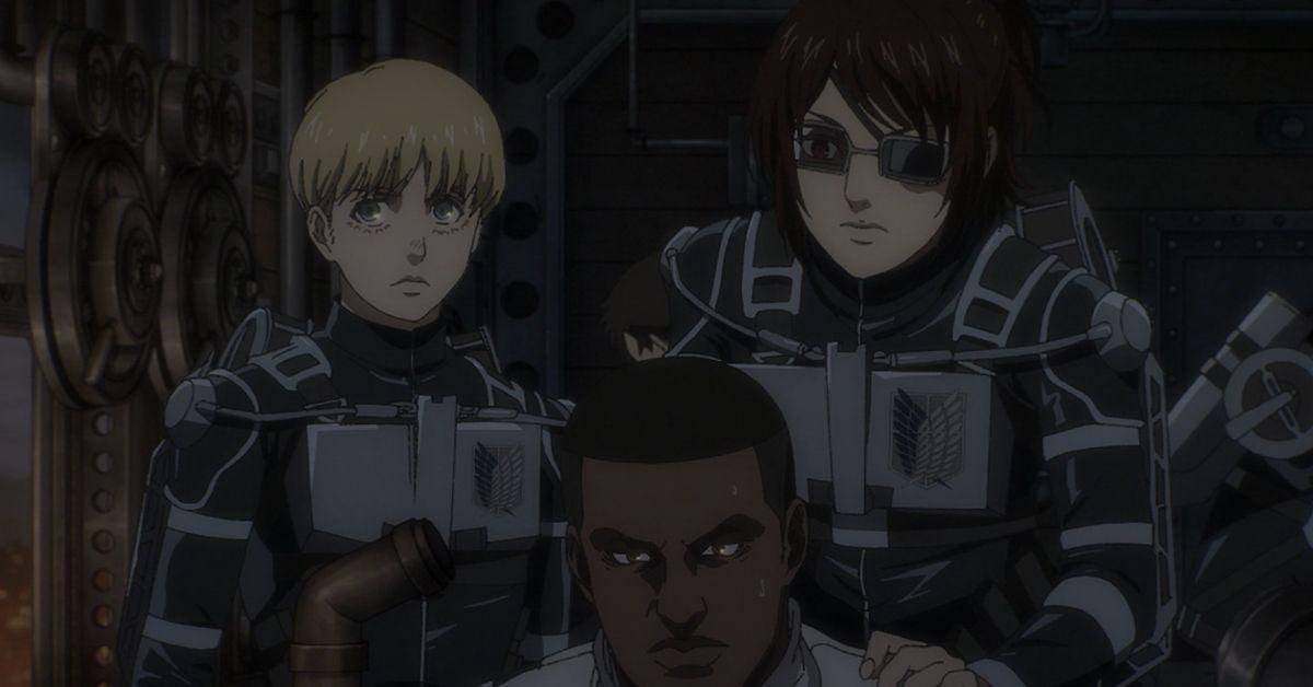 Attack on Titan Season 4 Armin Hange Anime