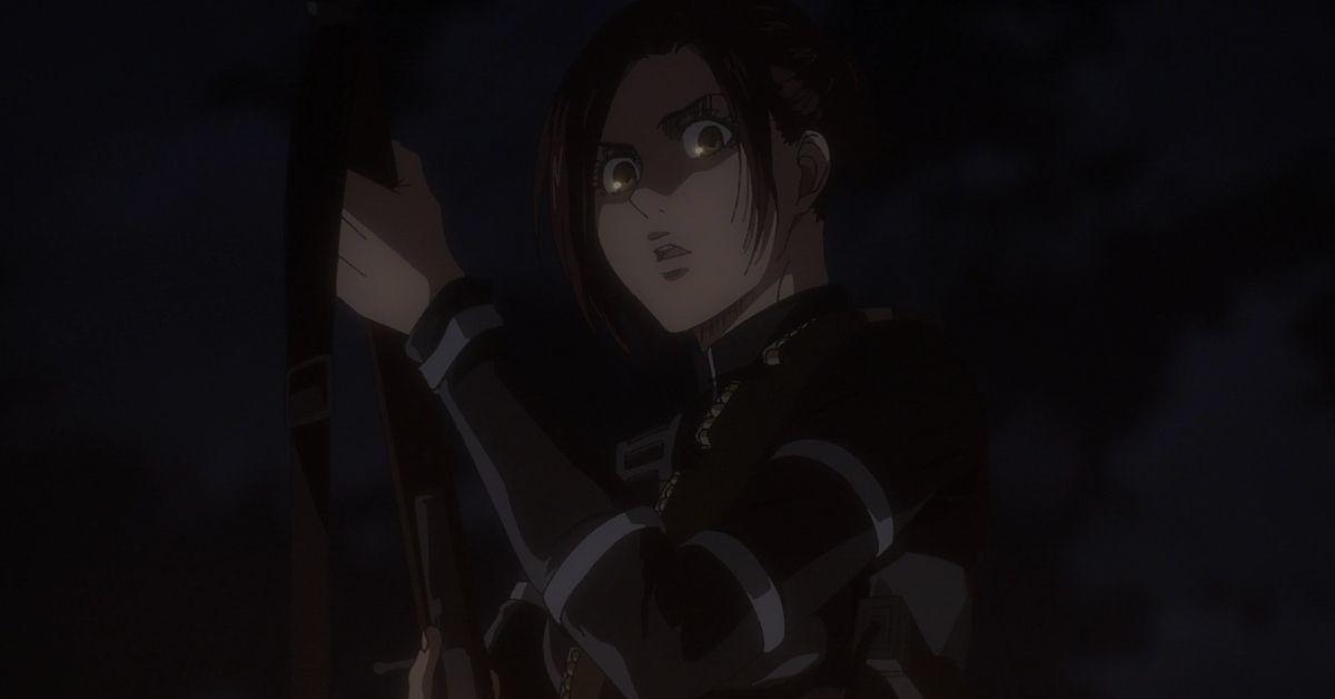 Attack on Titan Season 4 Sasha