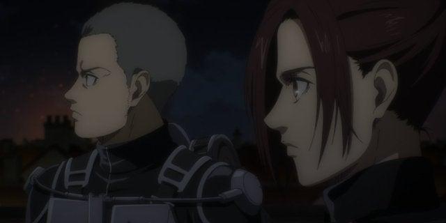 Attack on Titan Season 4 Sasha Connie Anime