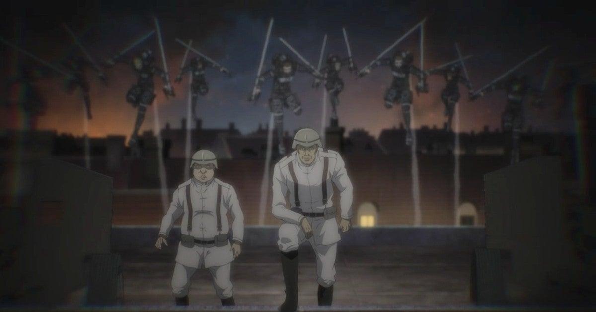 Attack On Titan Season 4 Survey Corps vs Marley Battle Anime 65 Spoilers