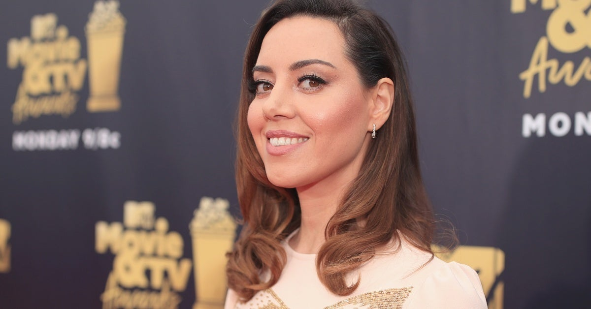 aubrey plaza getty images
