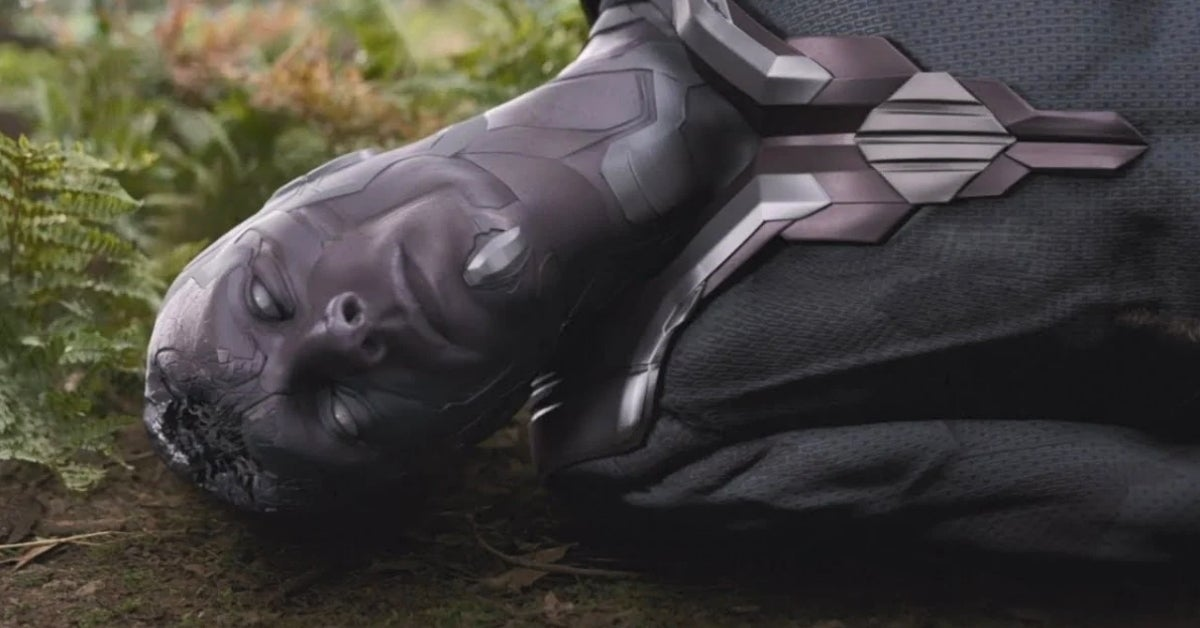Avengers Infinity War Vision Death