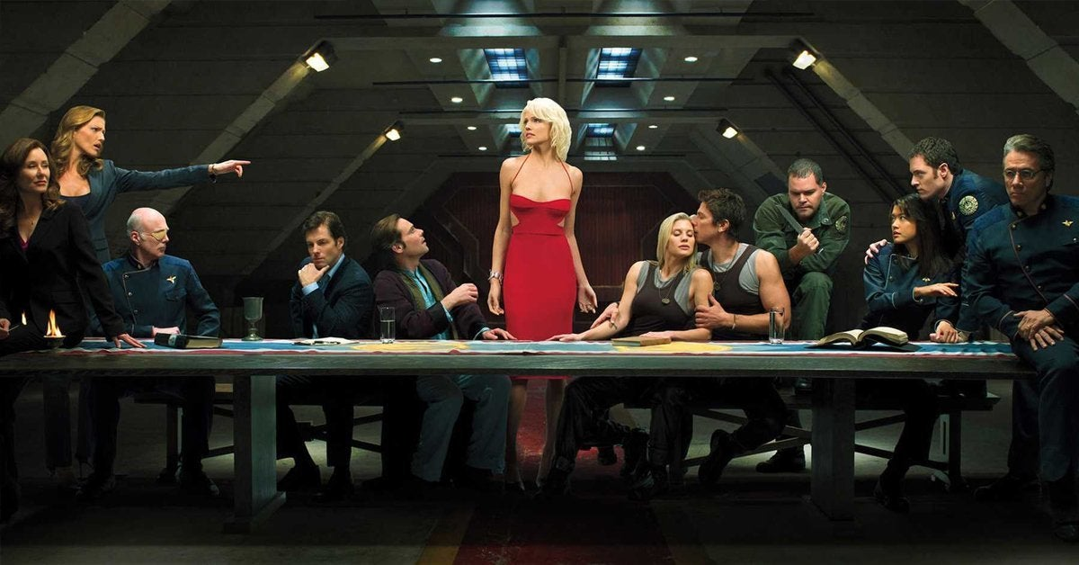 battlestar galactica last supper syfy