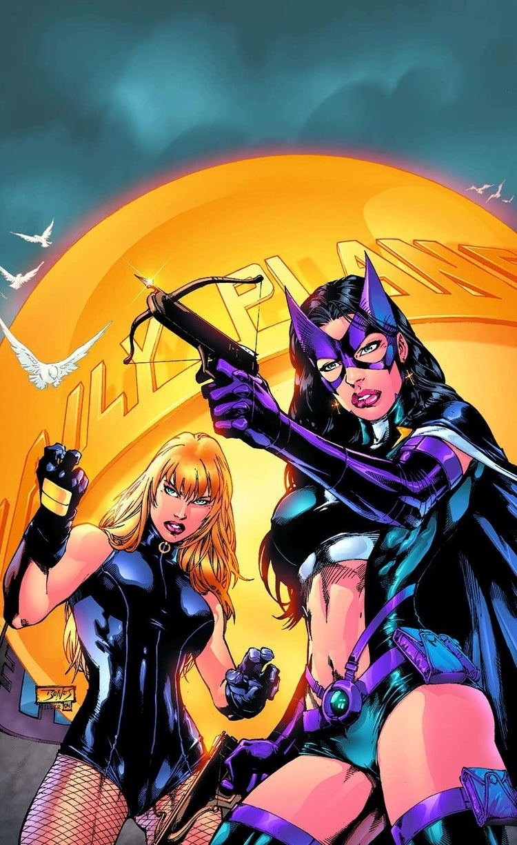 birds of prey hero hunters tpb