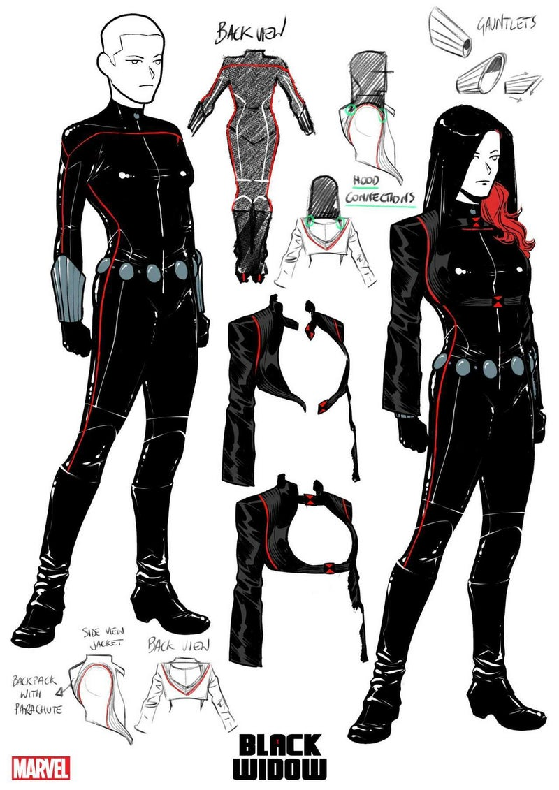 black widow costume redesign elena casagrande