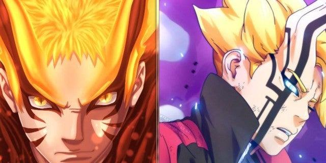 Boruto Momoshiki Naruto Nine-Tails Comparisons