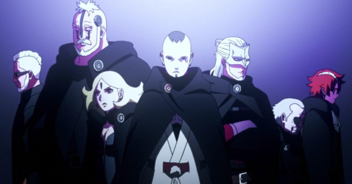 Boruto Naruto Kara Anime Vessel Arc