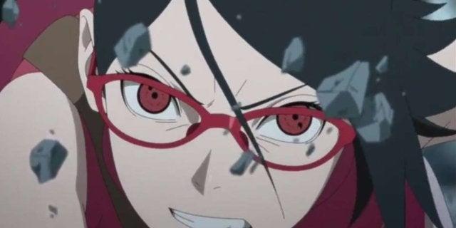 Boruto Naruto Sarada Uchiha Anime