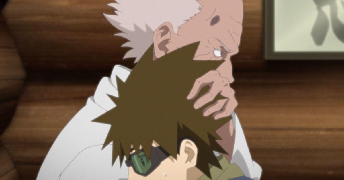 Boruto Naruto Third Hokage Sarutobi Mugino Flashback Anime