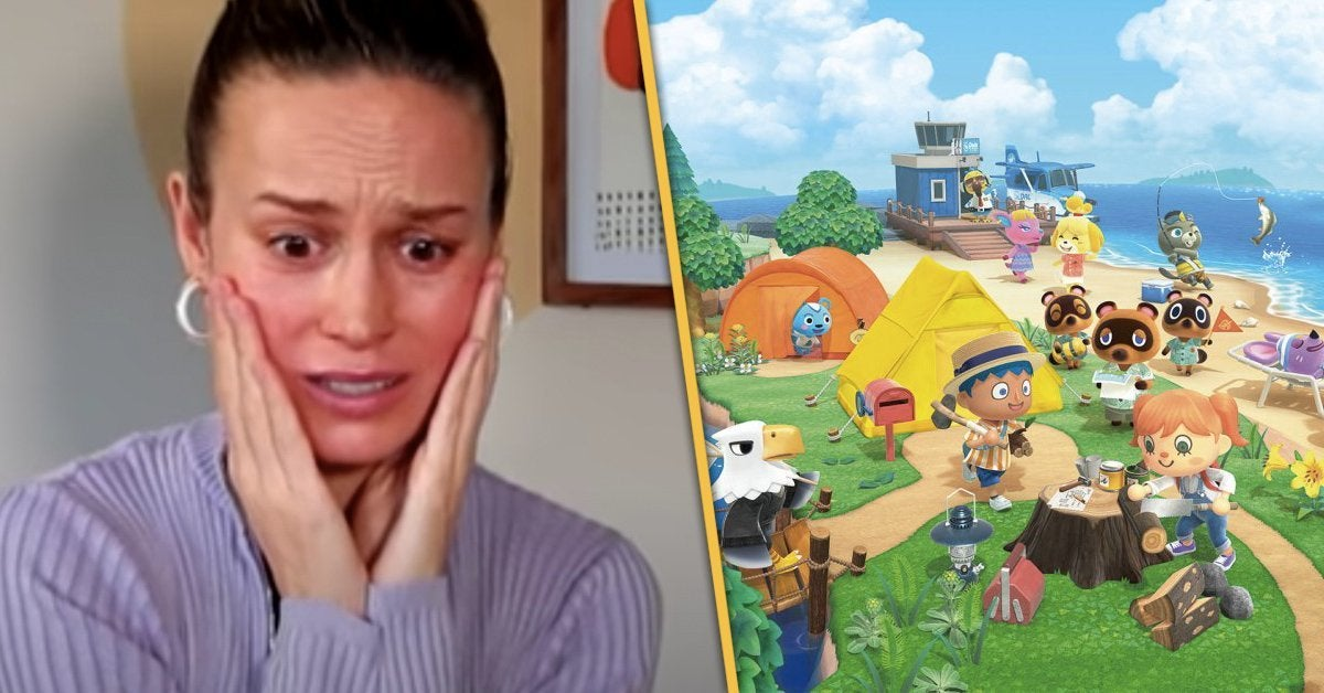 Brie-Larson-Animal-Crossing-Reaction