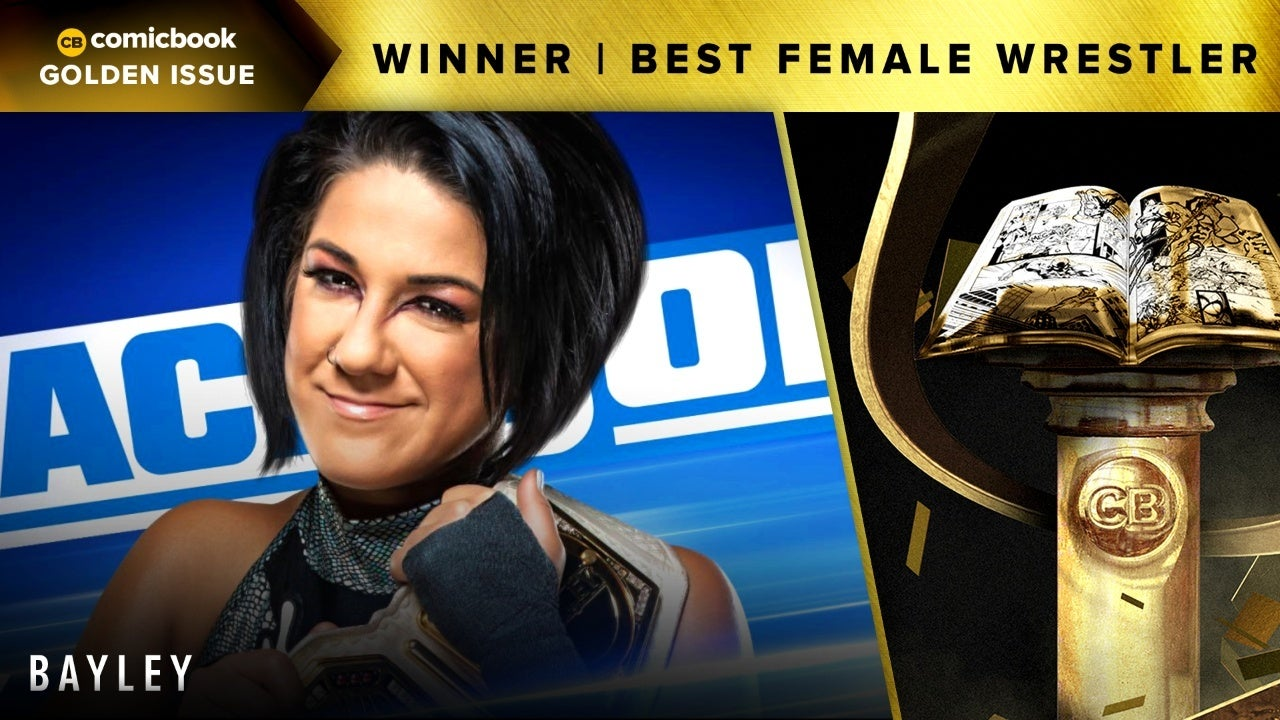 CB 2020 Golden Issues Best Female Wrestler Bayley