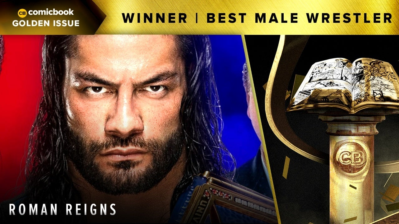 CB 2020 Golden Issues Best Male Wrestler Roman Reigns