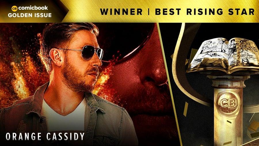 CB 2020 Golden Issues Best Rising Star Orange Cassidy
