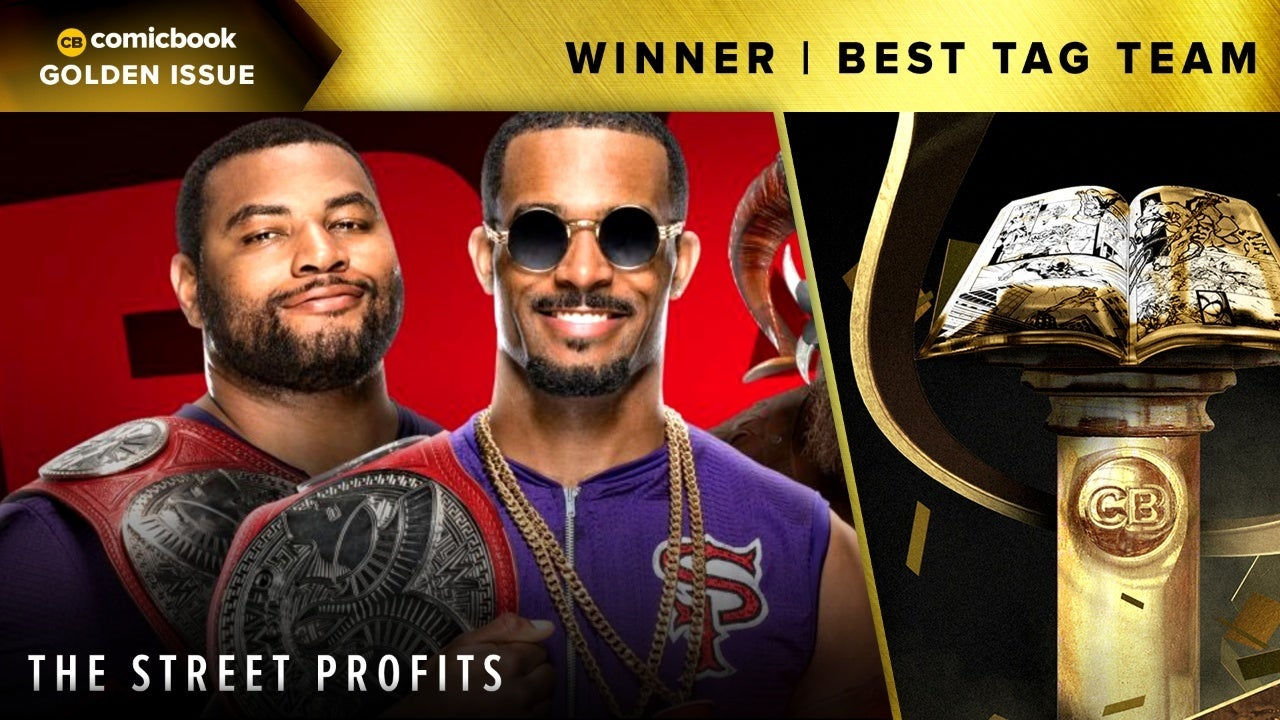 CB 2020 Golden Issues Best Tag Team The Street Profits