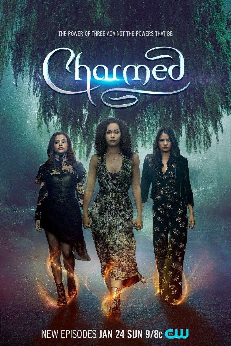 charmed season 3 poster
