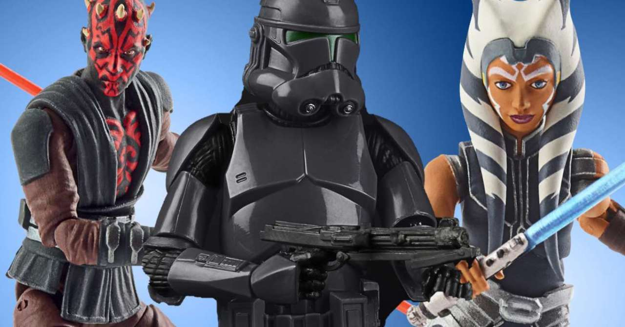 The Clone Wars and Bad Batch Figures ...