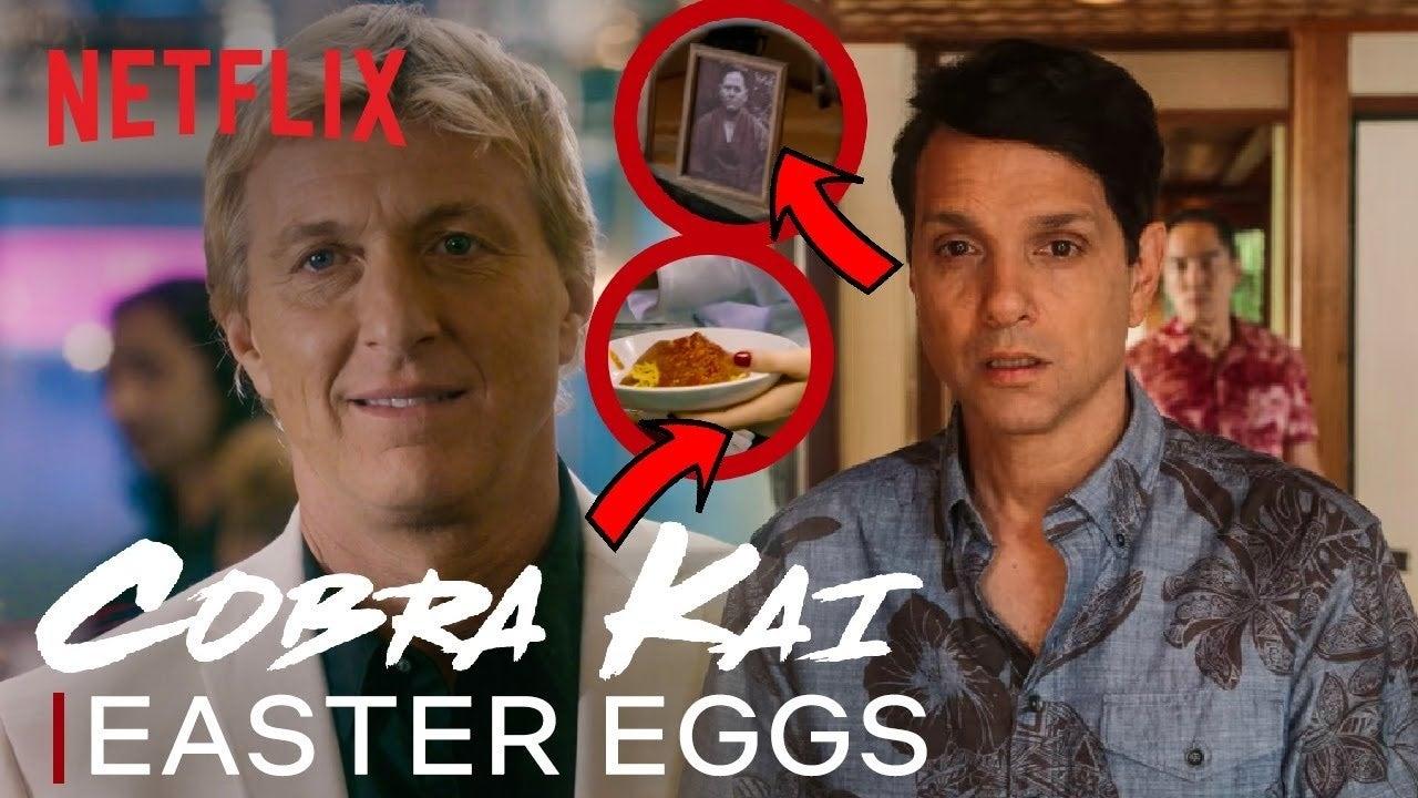 cobra kai easter eggs season 3 netflix