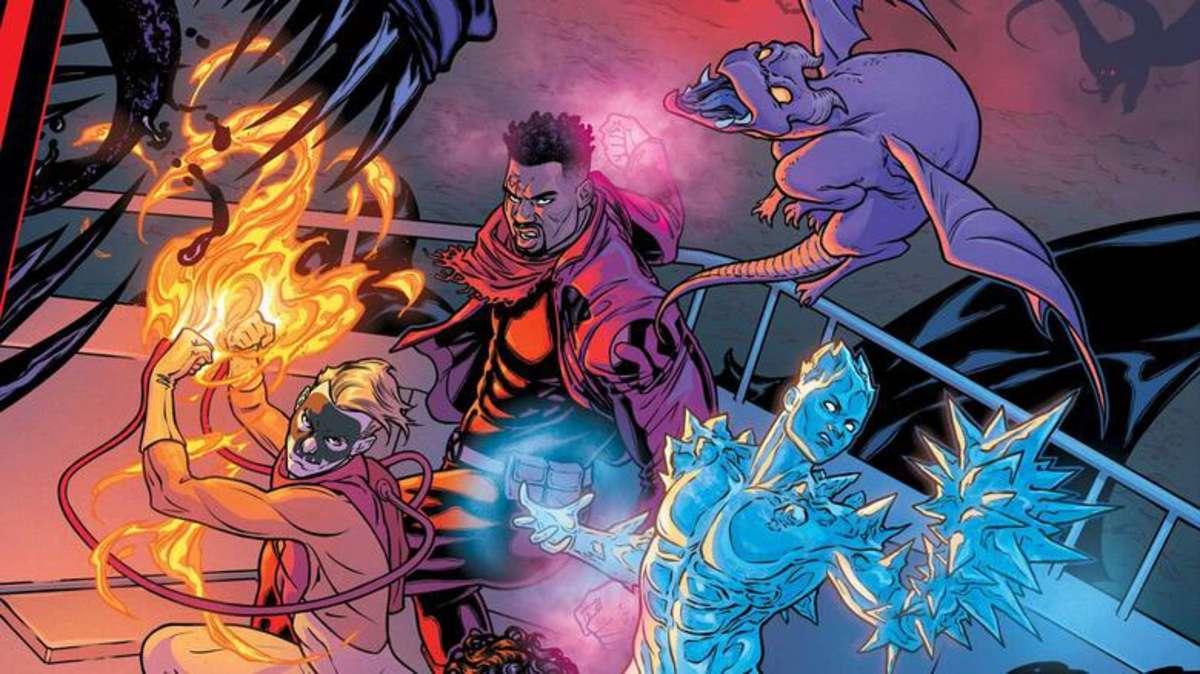 Comic Reviews - King in Black Marauders #1