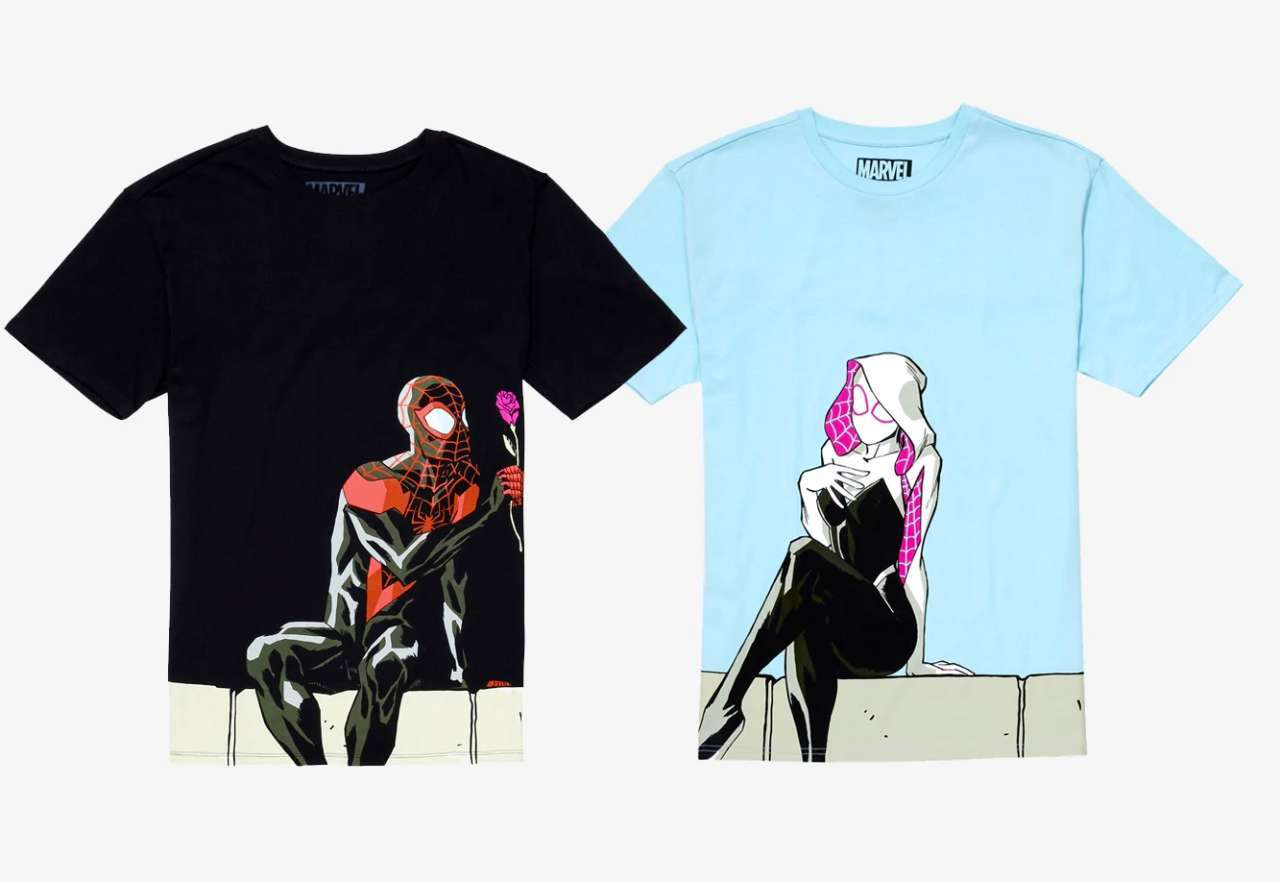 couples-shirts-spider-man