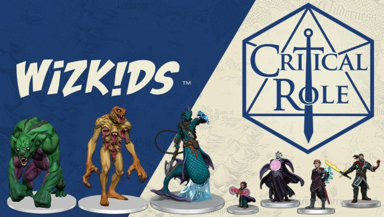 WizKids Announces New Critical Role Miniatures