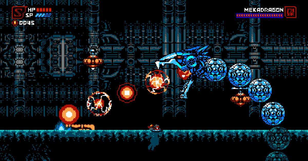 Cyber Shadow Mekadragon