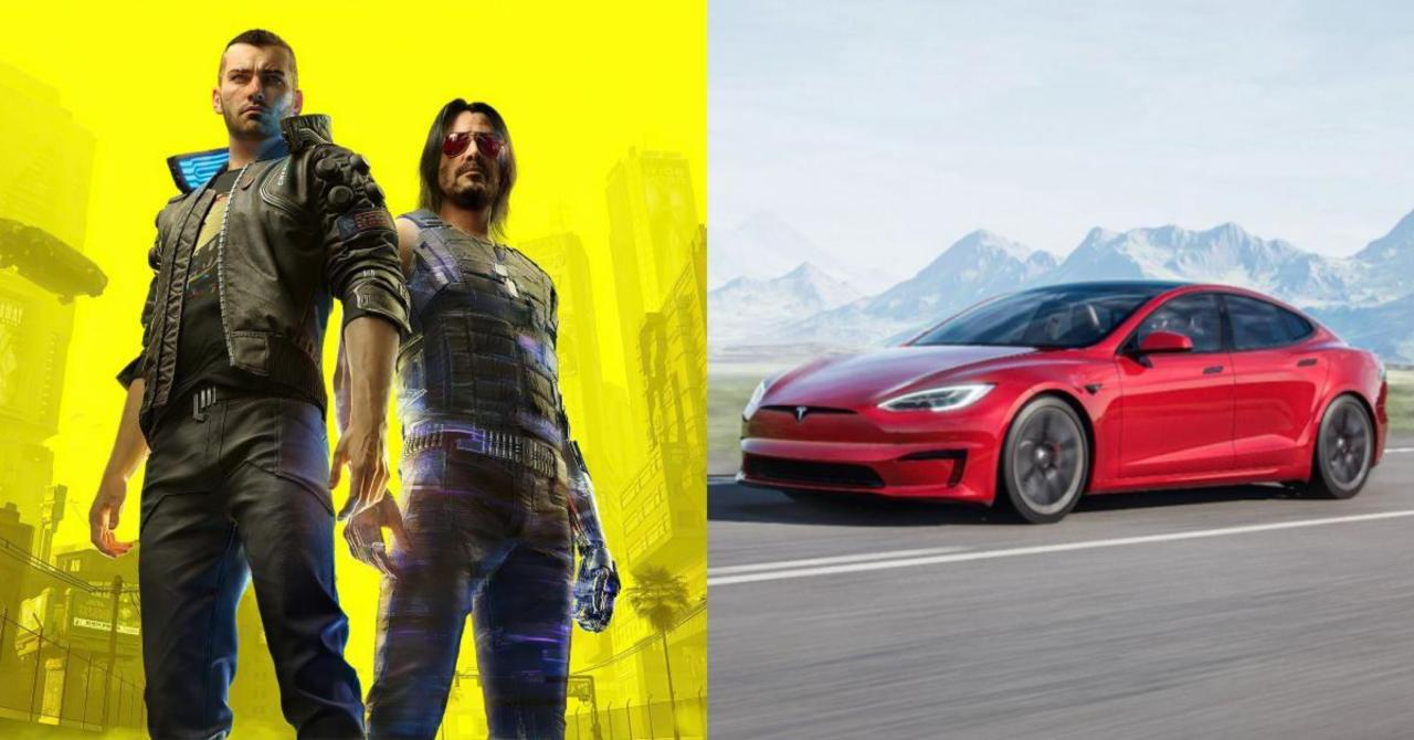 Elon Musk Reveals New Tesla Can Play Cyberpunk 2077 and The Witcher 3