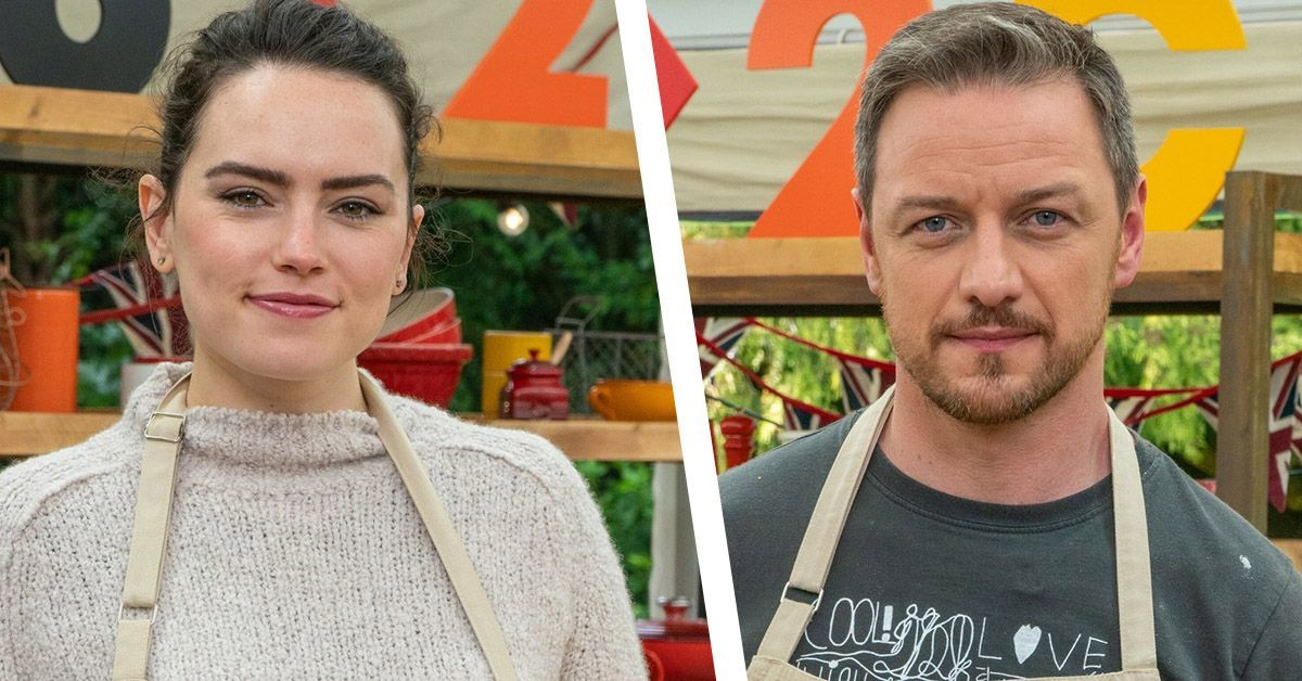 daisy ridley james mcavoy celebrity bake off