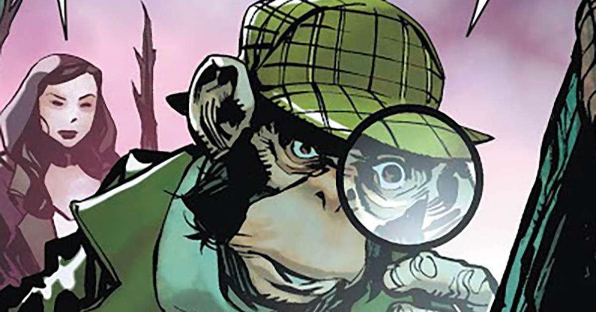 dc comics detective chimp