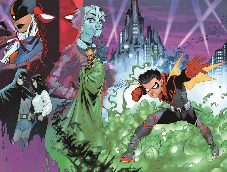 dc comics robin 1 variant cover