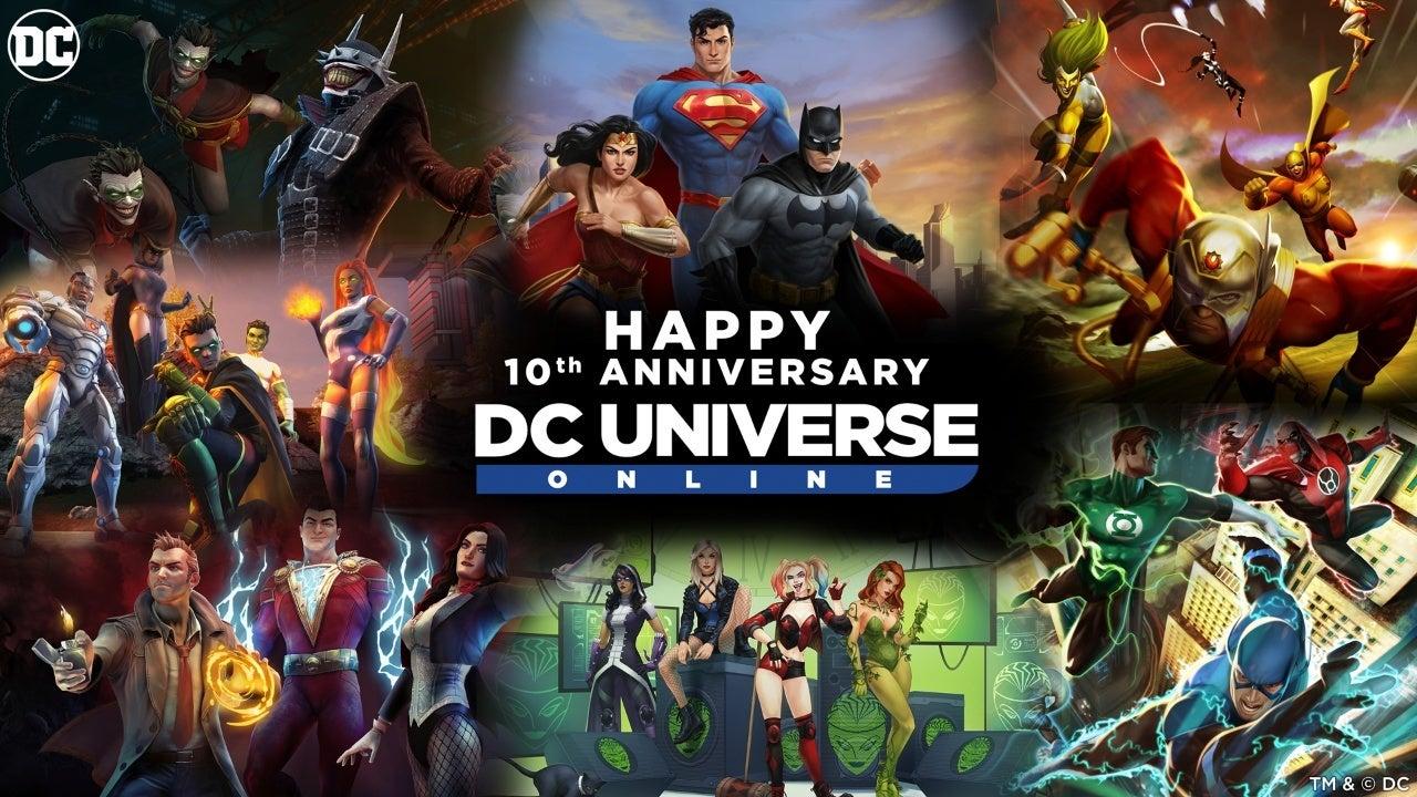 dc universe online 10 year anniversary