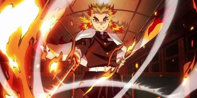 Demon Slayer Rengoku Anime