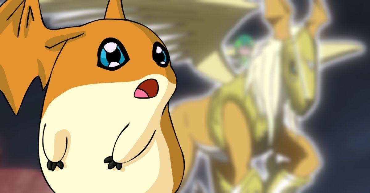 Digimon Adventure Patamon Pegasusmon Evolution Watch Anime