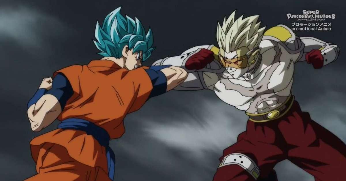 Dragon Ball Heroes Fighting