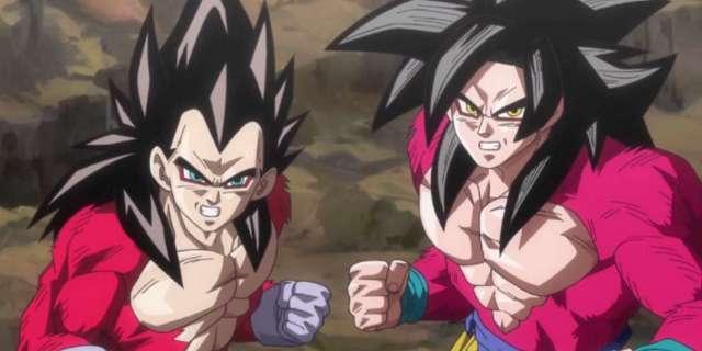 Dragon Ball Heroes Promo Broly Vegeta