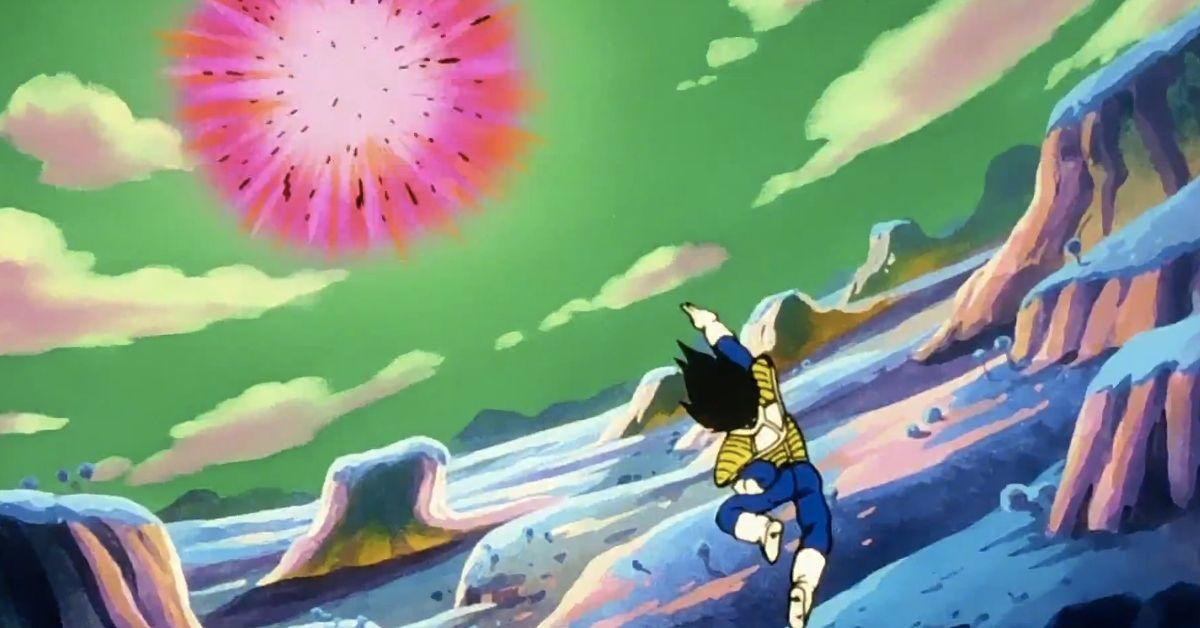 Dragon Ball Vegeta Dirty Fireworks