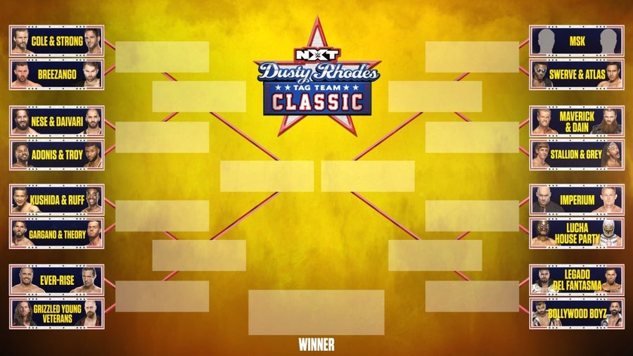 WWE NXT Releases the 2021 Dusty Rhodes Tag Team Classic Bracket