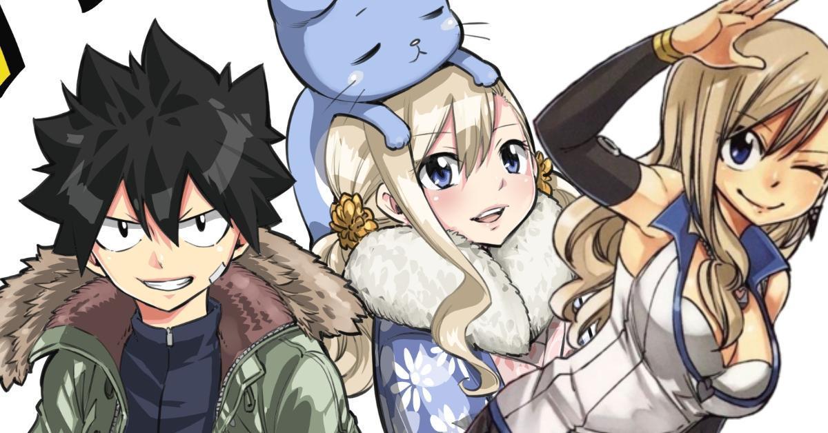 Edens Zero Anime 2021 Fairy Tail Creator Hiro Mashima Art