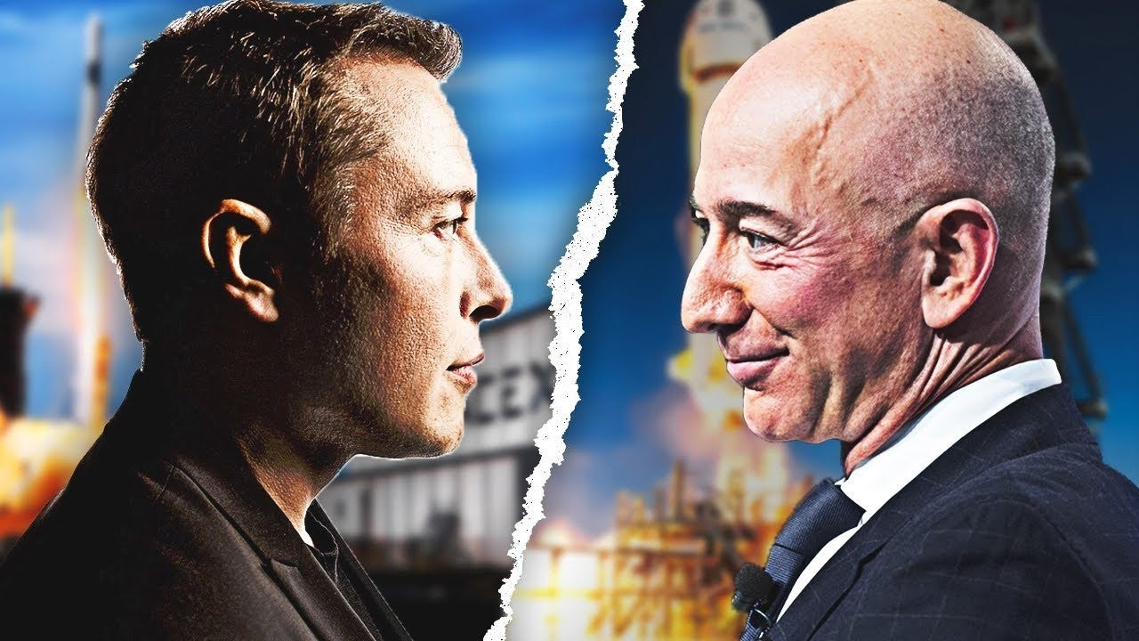 Elon Musk vs Jeff Bezos World's Richest Person 2021