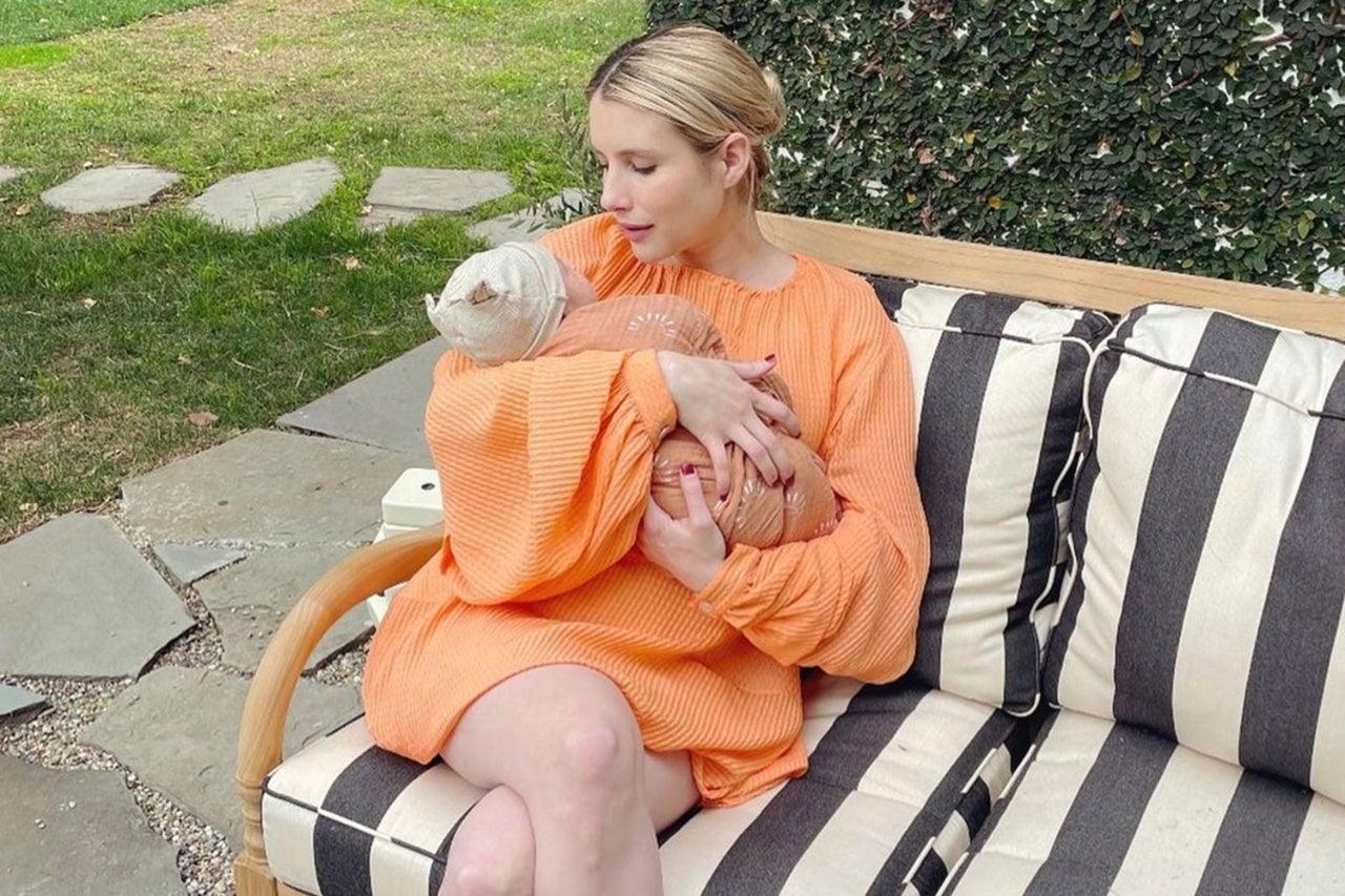 emma roberts baby instagram