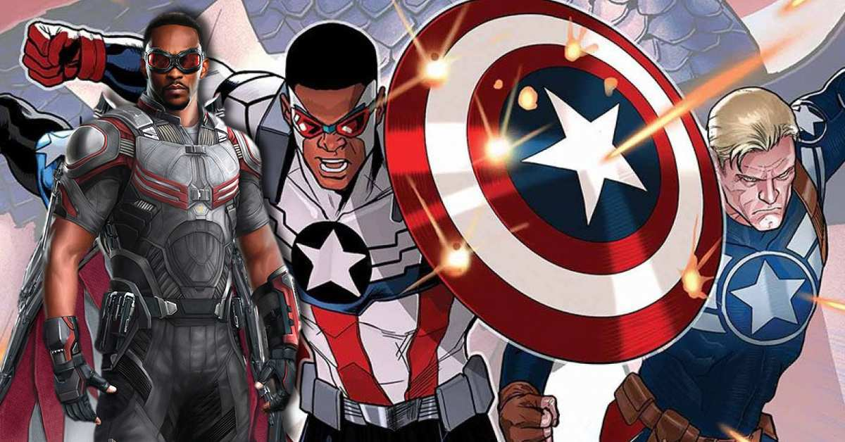 falcon and the winter soldier captain america costume anthony mackie