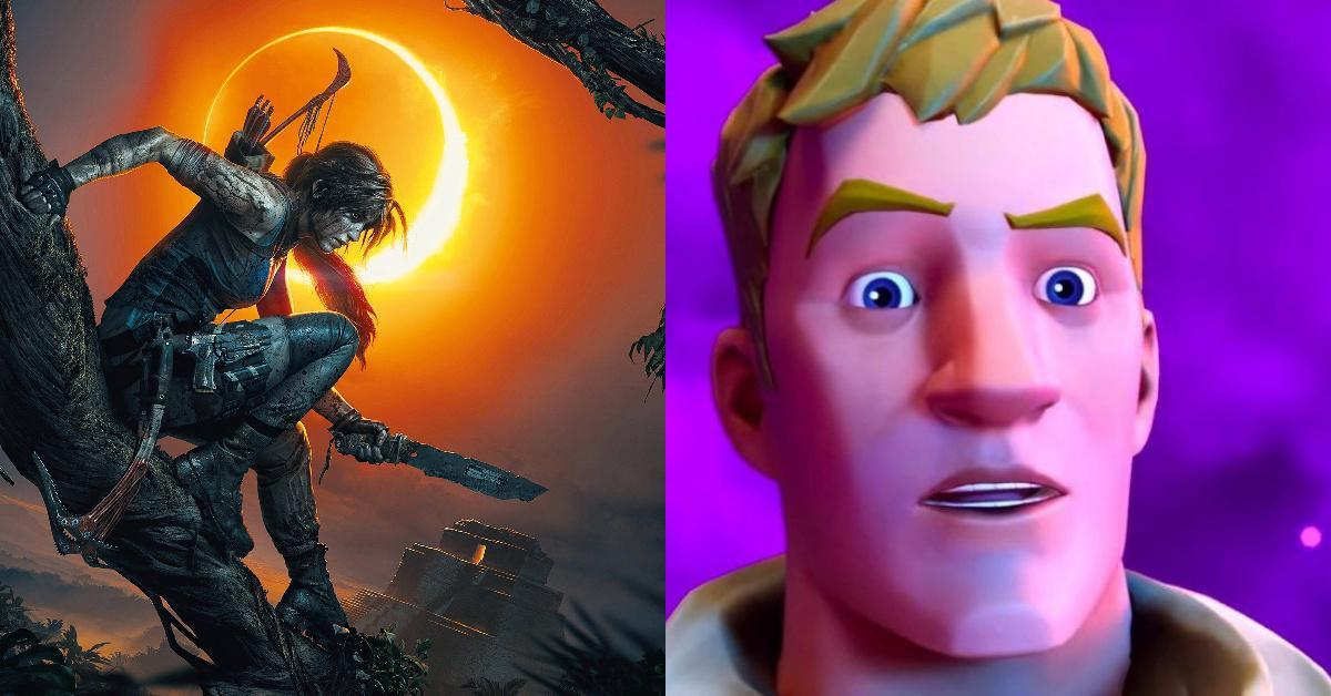 Fortnite Tomb Raider